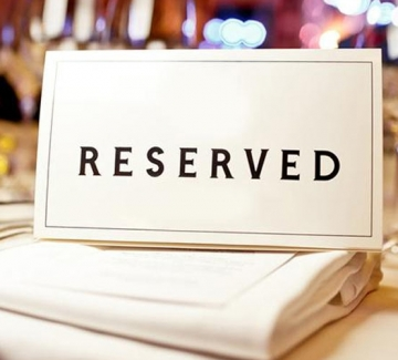 Restaurant Table Reservation