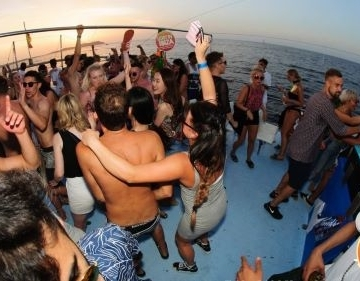 Lost in Ibiza Wednesday Sunset - BOAT PARTY ONLY TICKET