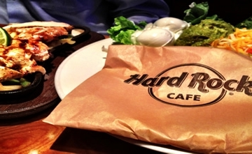 Hard Rock Cafe Meal