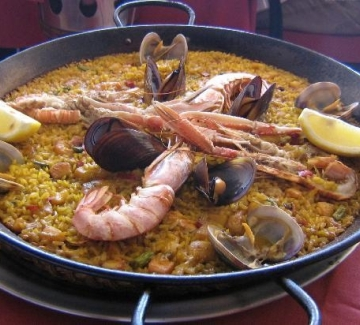 Paella Meal - Menu 1