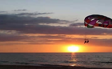 Sunset Parasailing + Speed Boat