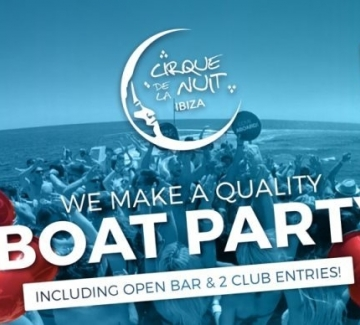 All Inclusive Boat Party (SUNSET) + Night Club Entry